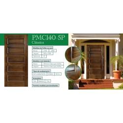 PORTA CARPISO TECA 2.10X1.00 PMC140-5P